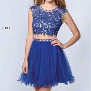 Lucci Lu 8121 Two Piece Dress Homecoming Prom